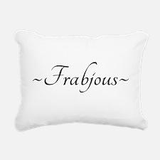 Frabjous Rectangular Canvas Pillow