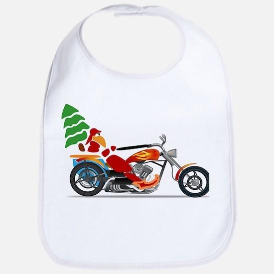 Have a Harley Christmas Bib