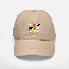 I Heart (Love) Sports Baseball Baseball Cap