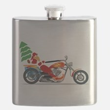 Have a Harley Christmas Flask