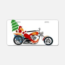 Have a Harley Christmas Aluminum License Plate