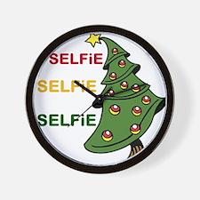 OYOOS Selfie Xmas design Wall Clock