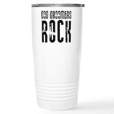 Cute Dog groomer Travel Mug
