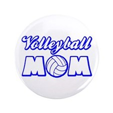 "VOLLEYBALL MOM 3.5"" Button"