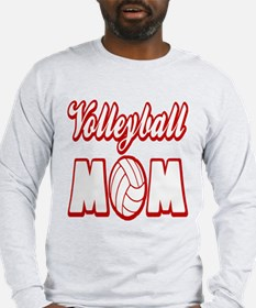 VOLLEYBALL MOM Long Sleeve T-Shirt