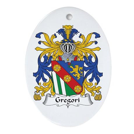 Gregori Oval Ornament