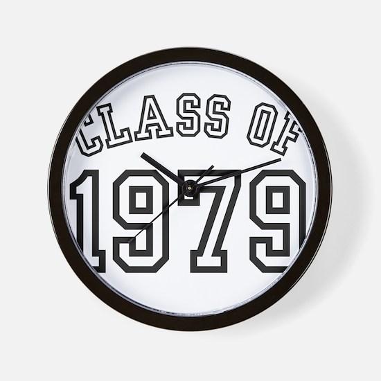 Class of 1979 Wall Clock