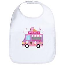 I love Ice Cream Truck Bib