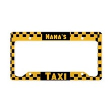 Nana'a Taxi License Plate Holder