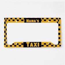 Nana'a Taxi License Plate Holder