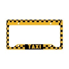 Taxi License Plate Holder