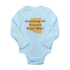 Arizona Loves You Long Sleeve Infant Bodysuit
