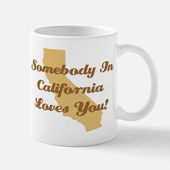 Somebody In California Loves You Coffee Mug