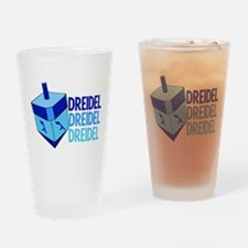 Dreidel Drinking Glass