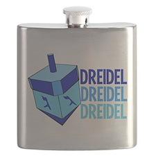 Dreidel Flask