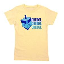 Dreidel Girl's Tee