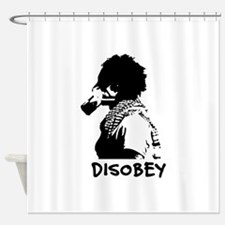 Disobey Shower Curtain