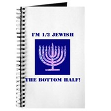 Funny Half Jewish the Bottom 1/2 Journal