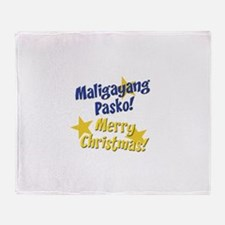 maligayangpasko2 copy.jpg Throw Blanket