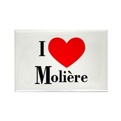 I Love Moliere Rectangle Magnet (10 pack)