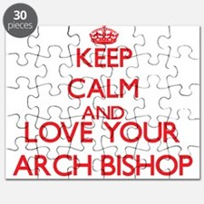 Keep Calm and love your Arch Bishop Puzzle