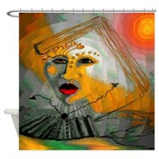 Hour Town Shower Curtain