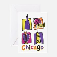 Chicago Kids Greeting Cards (Pk of 10)