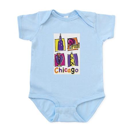 Chicago Kids Infant Bodysuit