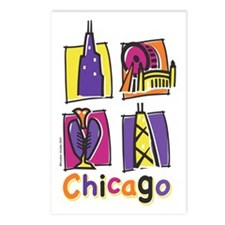 Chicago Kids Postcards (Package of 8)