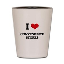 I love Convenience Stores Shot Glass