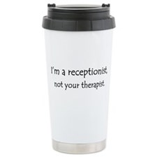 Funny Therapy pet Travel Mug
