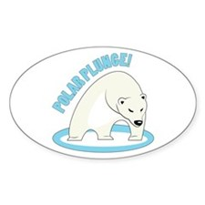 Polar Plunge! Decal