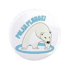 """Polar Plunge! 3.5"""" Button"""