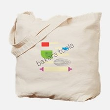 Bakers Tools Tote Bag