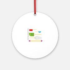 Baking Essentials Ornament (Round)