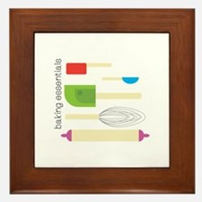 Baking Essentials Framed Tile