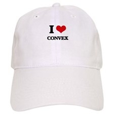 I love Convex Baseball Cap