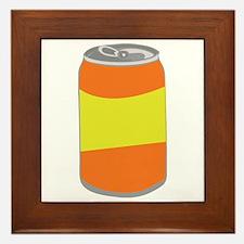 Soda Can Framed Tile