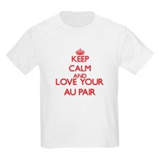 Keep Calm and love your Au Pair T-Shirt