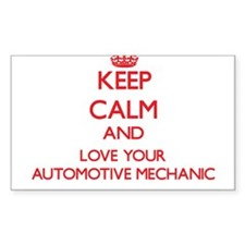 Keep Calm and love your Automotive Mechani Decal