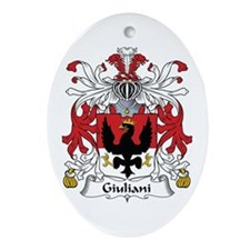 Giuliani Oval Ornament