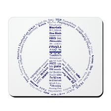 Languages of Peace Mousepad