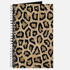 Beautiful leopard pattern design Journal
