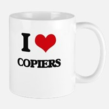 I love Copiers Mugs