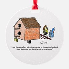 Flippin' The Birdhouse Ornament