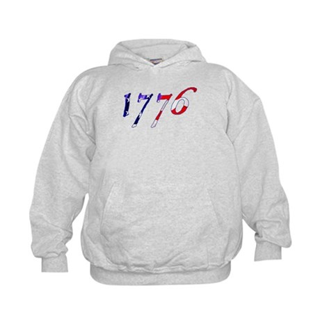 "Stars & Stripes ""1776"" Kids Hoodie"