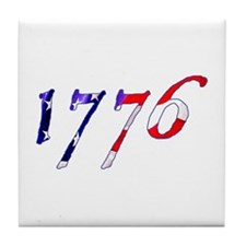 "Stars & Stripes ""1776"" Tile Coaster"