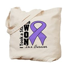 Won Hodgkins Lymphoma Tote Bag