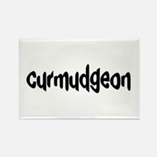 curmudgeon Rectangle Magnet