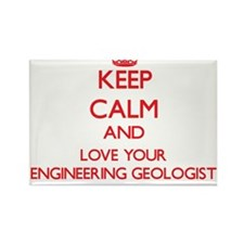 Keep Calm and love your Engineering Geolog Magnets